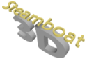 Steamboat 3D Logo